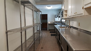 Picture of Dining Hall Kitchen prep area
