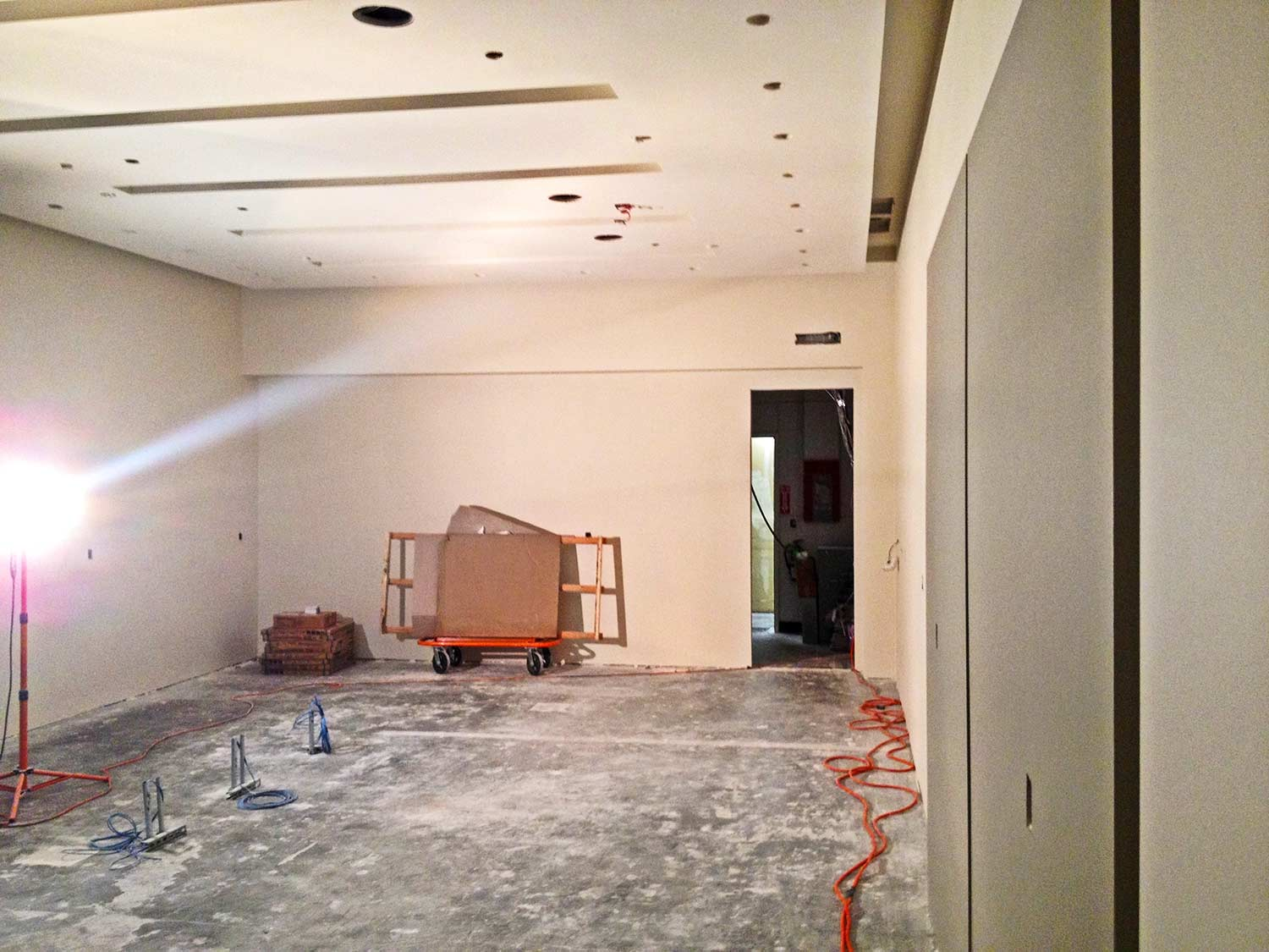 Progress made on construction of Isadora store