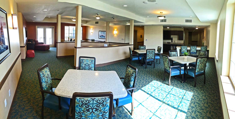 St. Paul's Plaza interior activity room