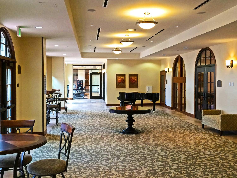 St. Paul's Plaza interior prefunction space