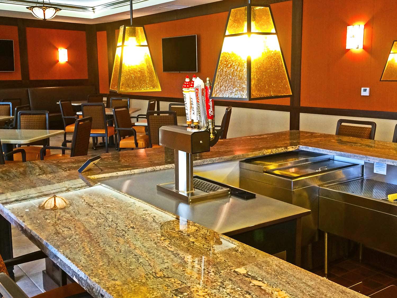 St. Paul's Plaza interior pub
