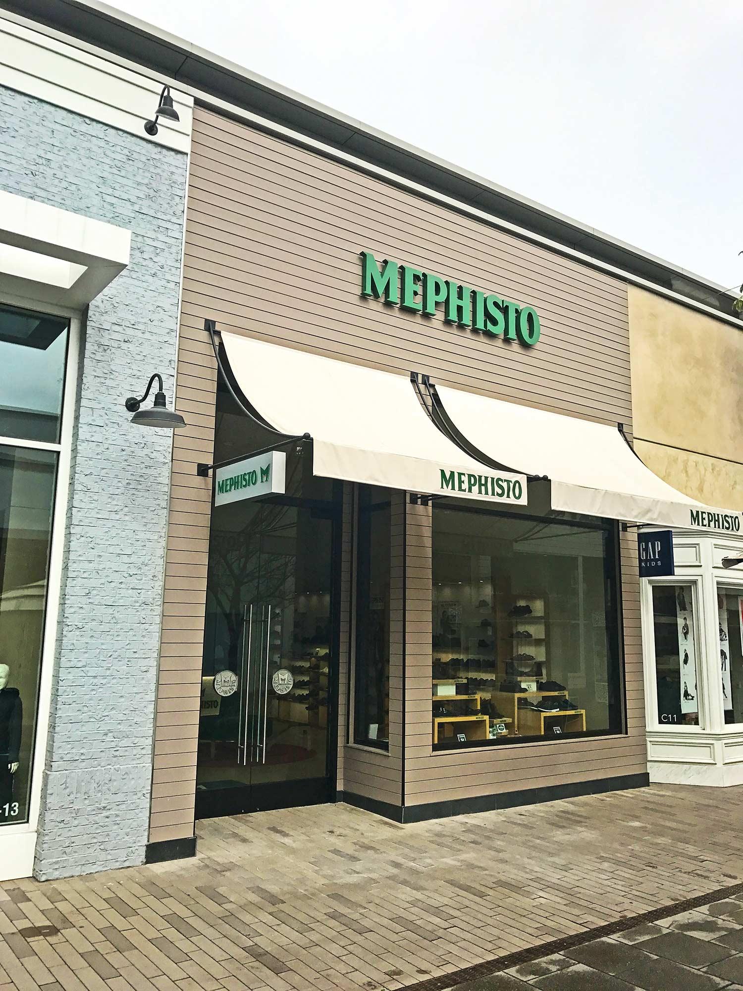 Mephisto retail store exterior