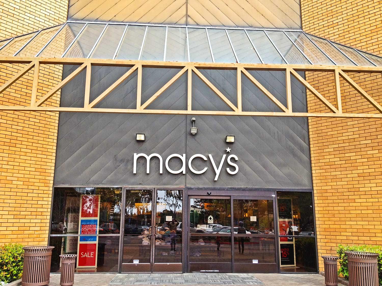 Macy's before construction by Olson Construction Company