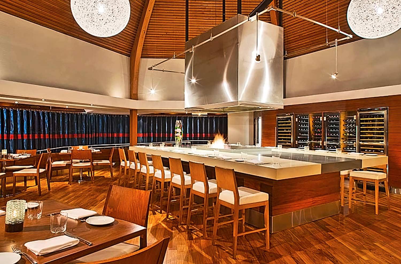 Red Marlin Table at Hyatt Regency Mission Bay