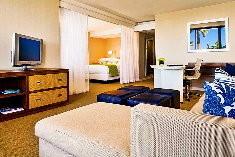 Room interior at Hyatt Regency Mission Bay