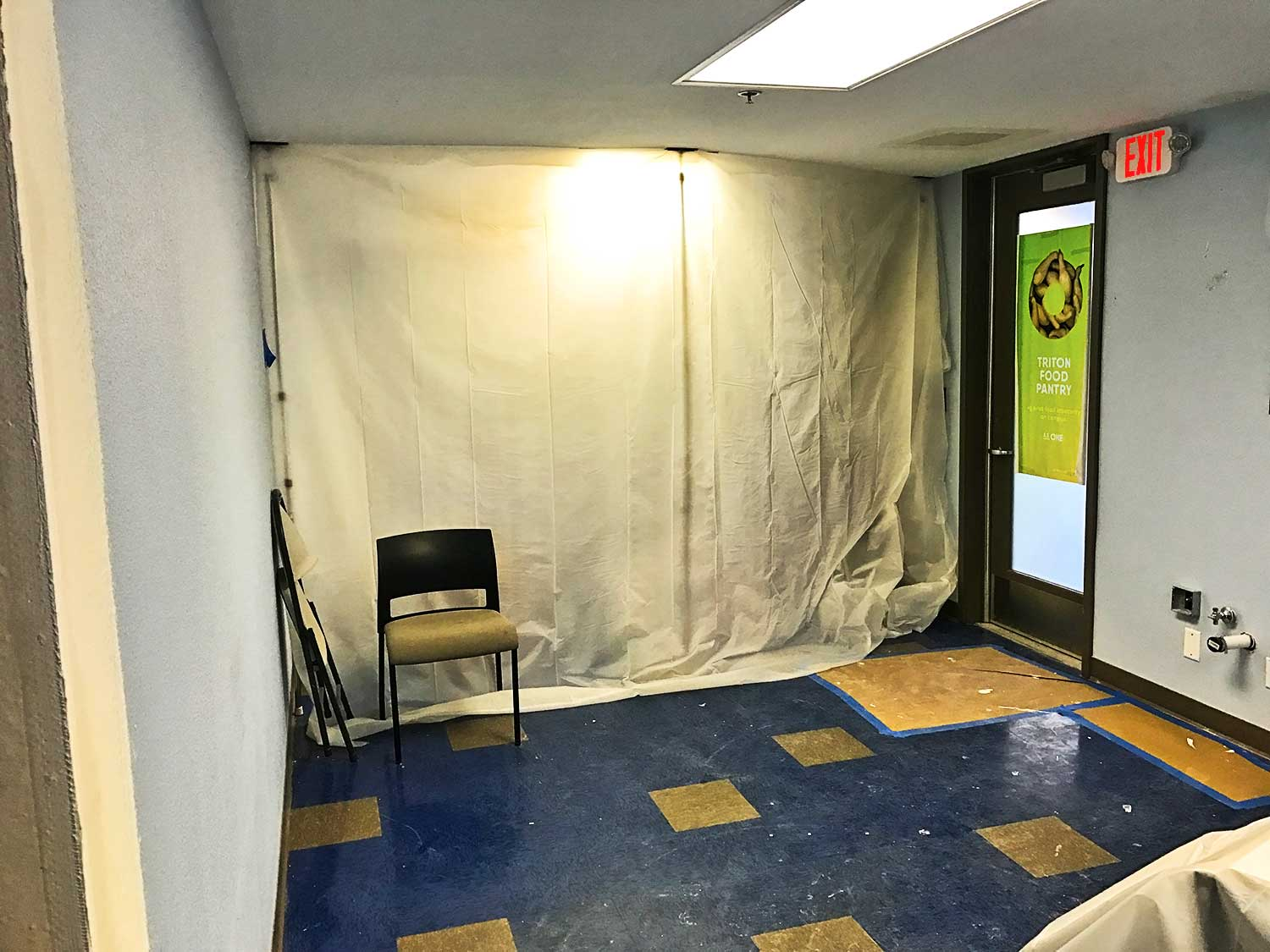 Construction of food pantry