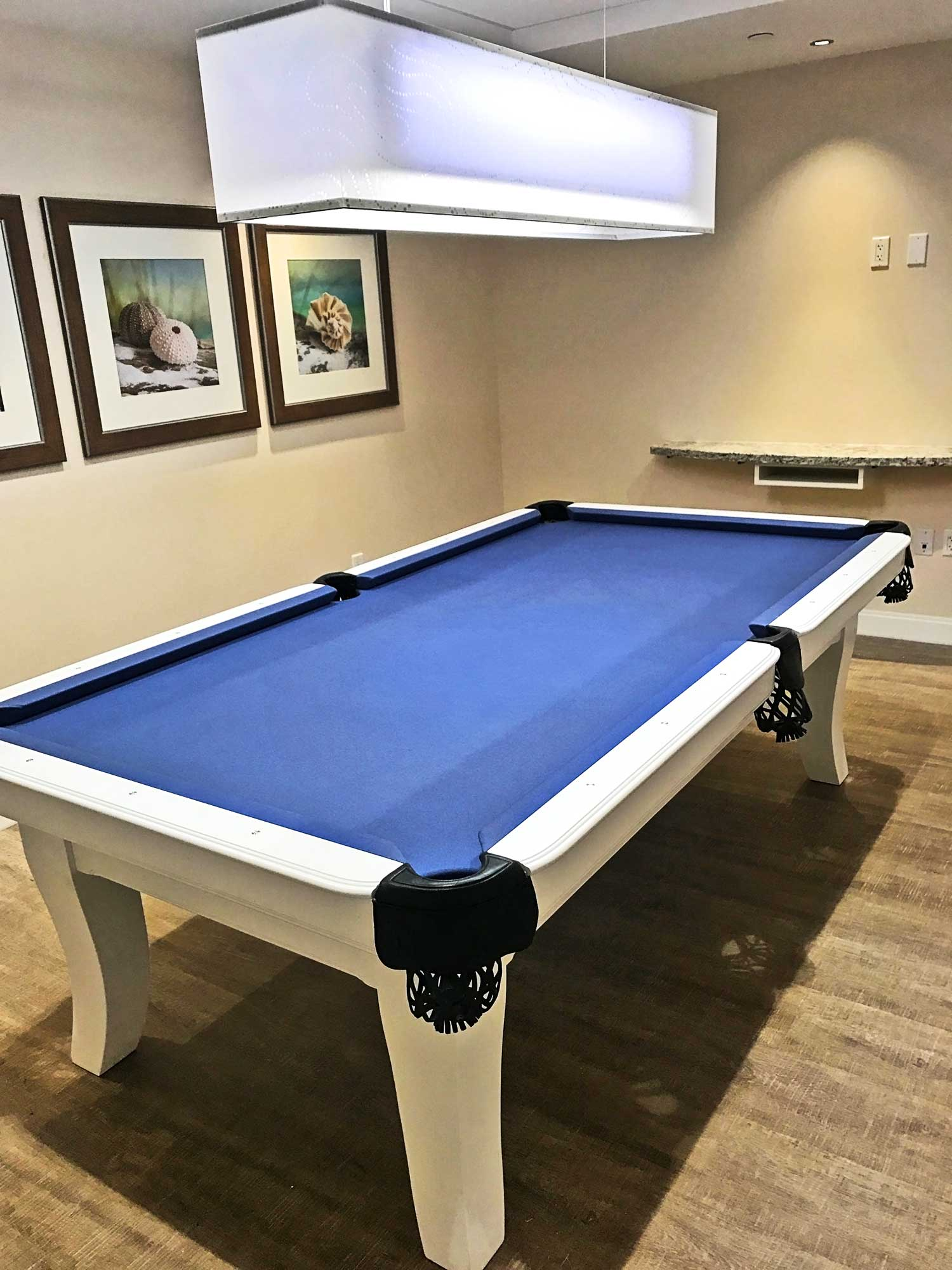 Pool table at White Sands
