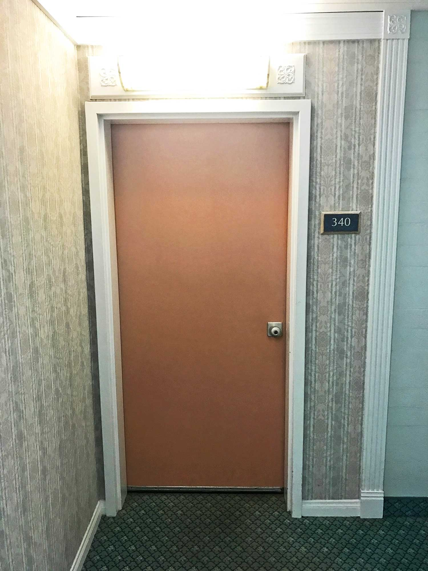 Hallway at White Sands