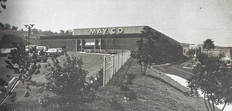Old May Company building at the Carlsbad Mall
