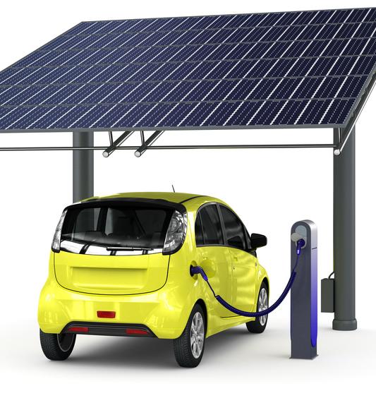 Un carport solaire pour recharger sa voiture électrique