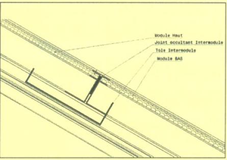 Montage gouttière système IAB