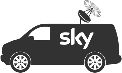 Contact Us Sky Van Icon
