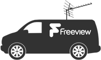 Contact Us Freeview Van Icon