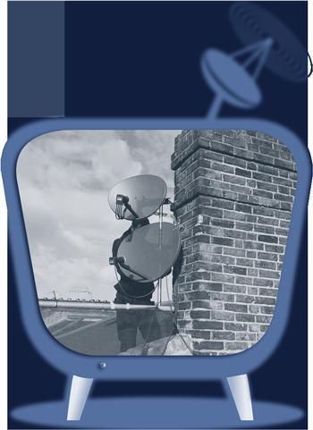 Sky Satellite TV Icon