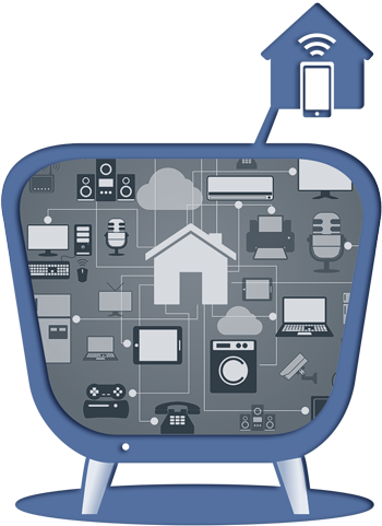 Smart Home Systems Icon