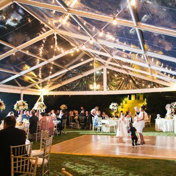 Clearspan Wedding Tent