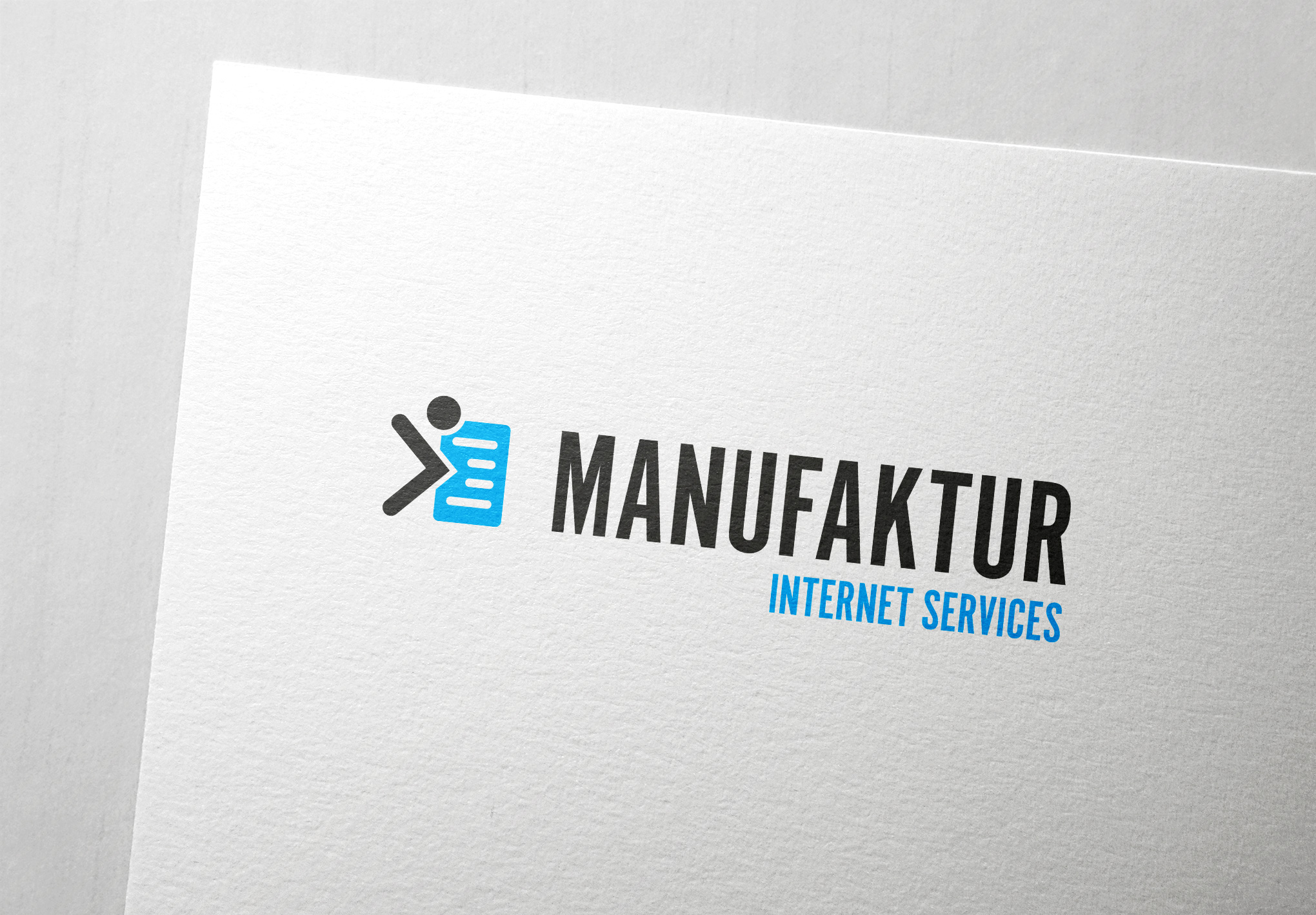 Logodesign für Manufaktur Internet Services