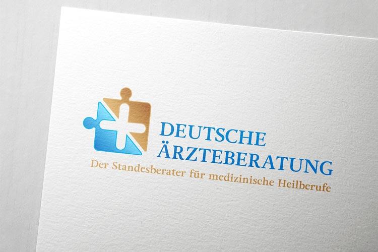 Logodesign für Deutsche Ärzteberatung