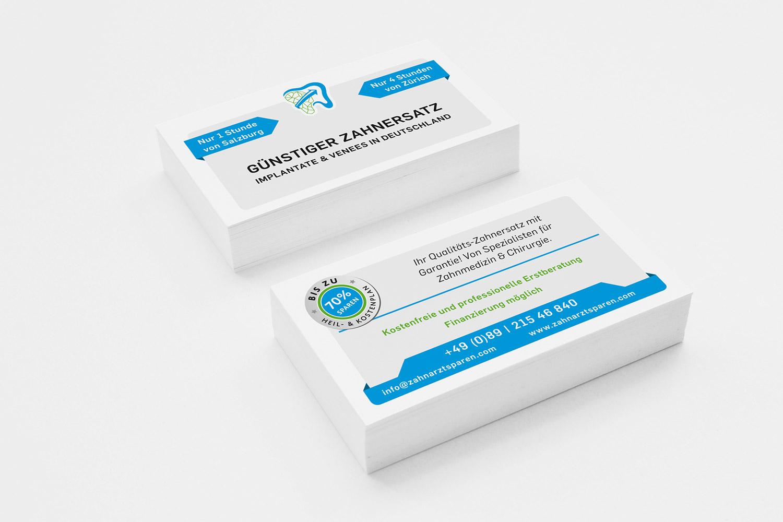 Corporate Identity für Zahnarztsparen