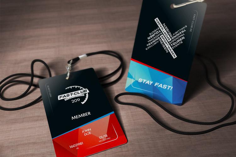 Mitgliederkarte für Fast-Club | experiences