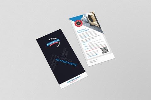 Flyer für Fast-Club | experiences