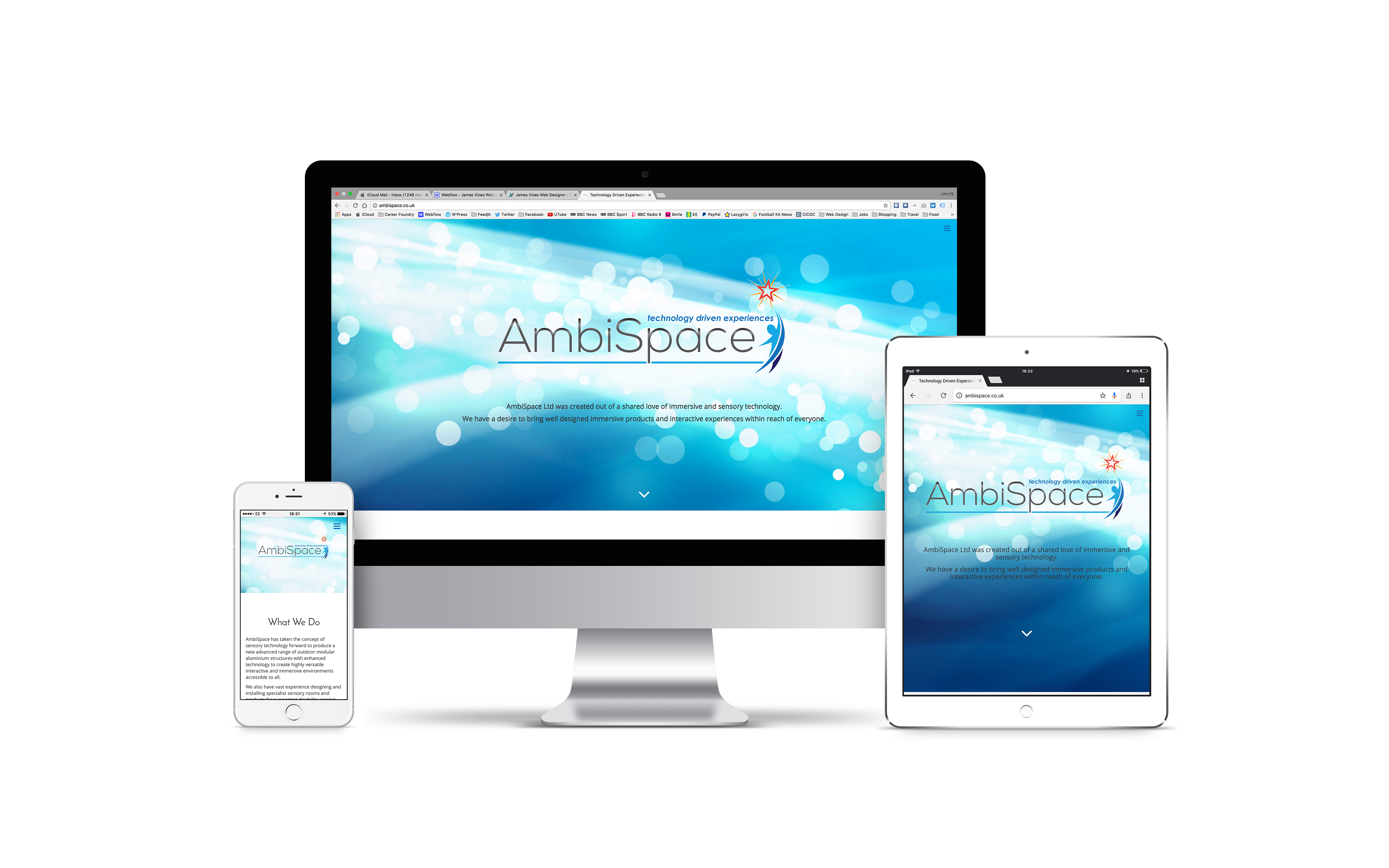 AmbiSpace - Front Pages