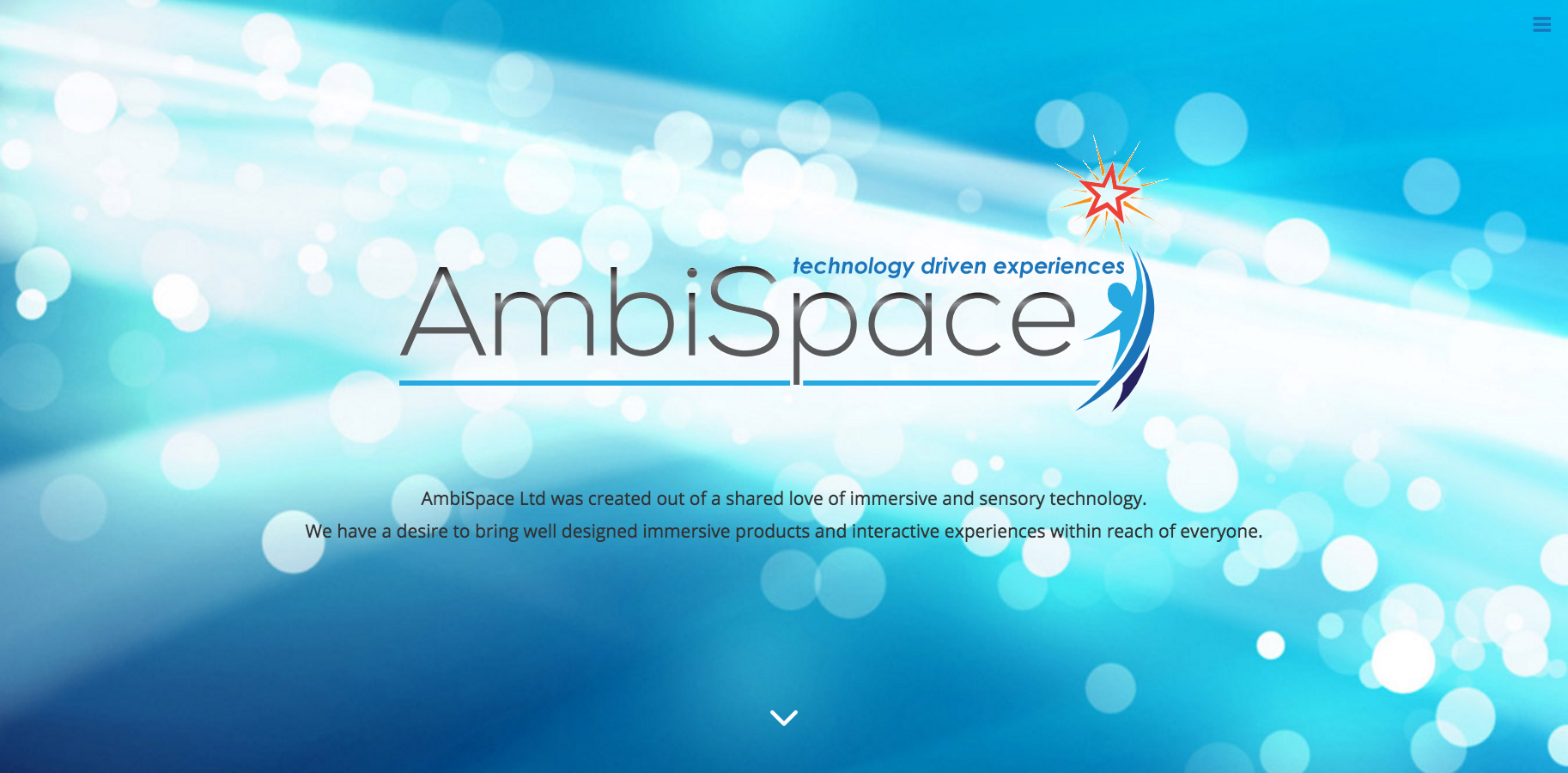 AmbiSpace   Landing Page Hero Section