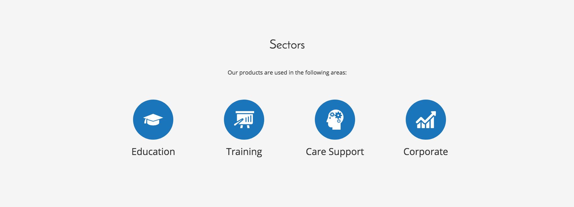 AmbiSpace   Landing Page - Sectors