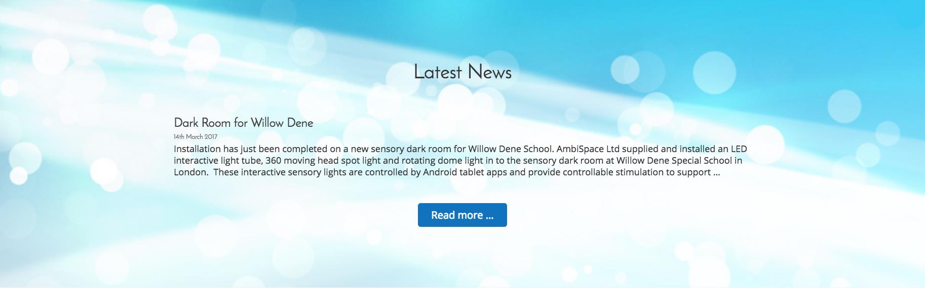 AmbiSpace   Landing Page - Latest News