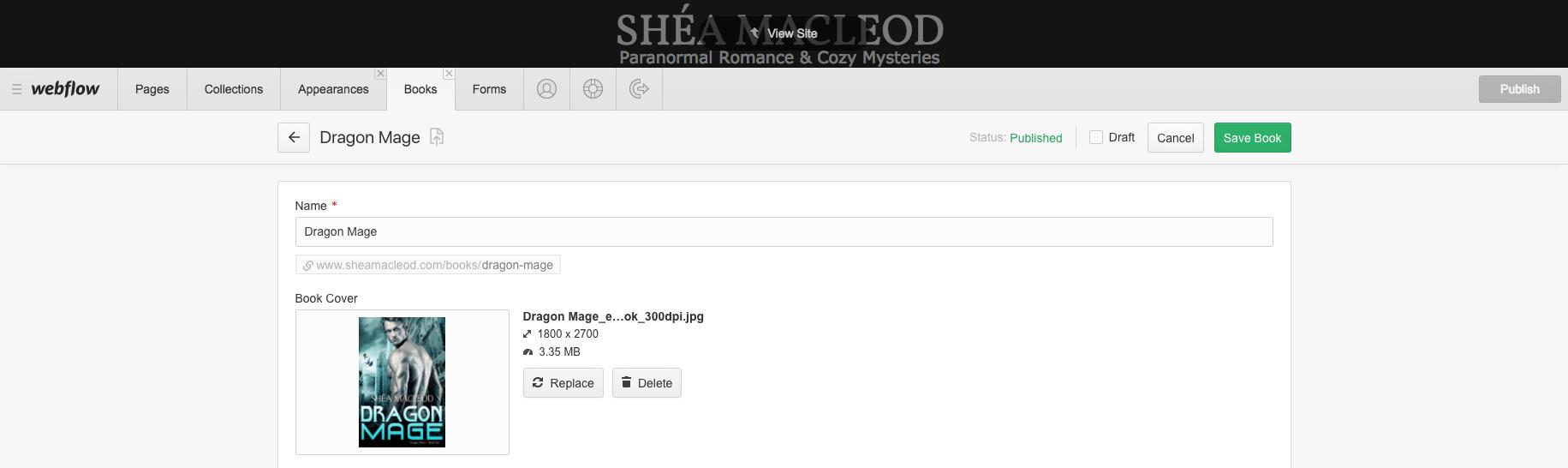 Shéa MacLeod   CMS Creating/Editing
