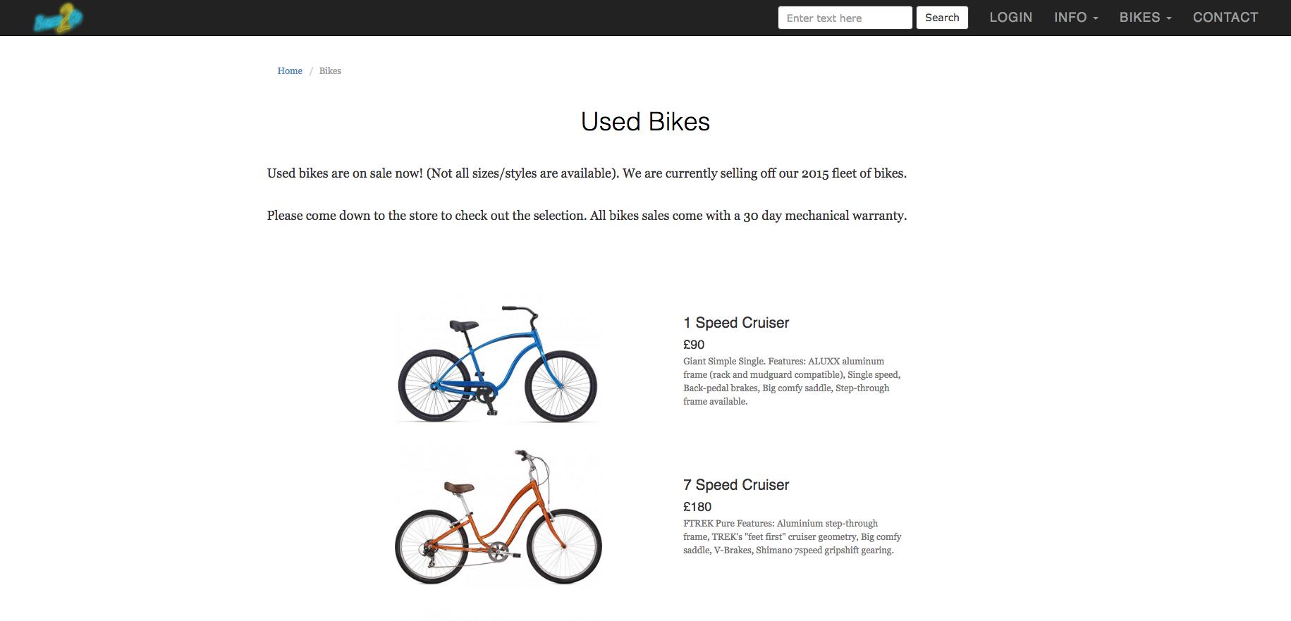 Bikes2Go | For Sale