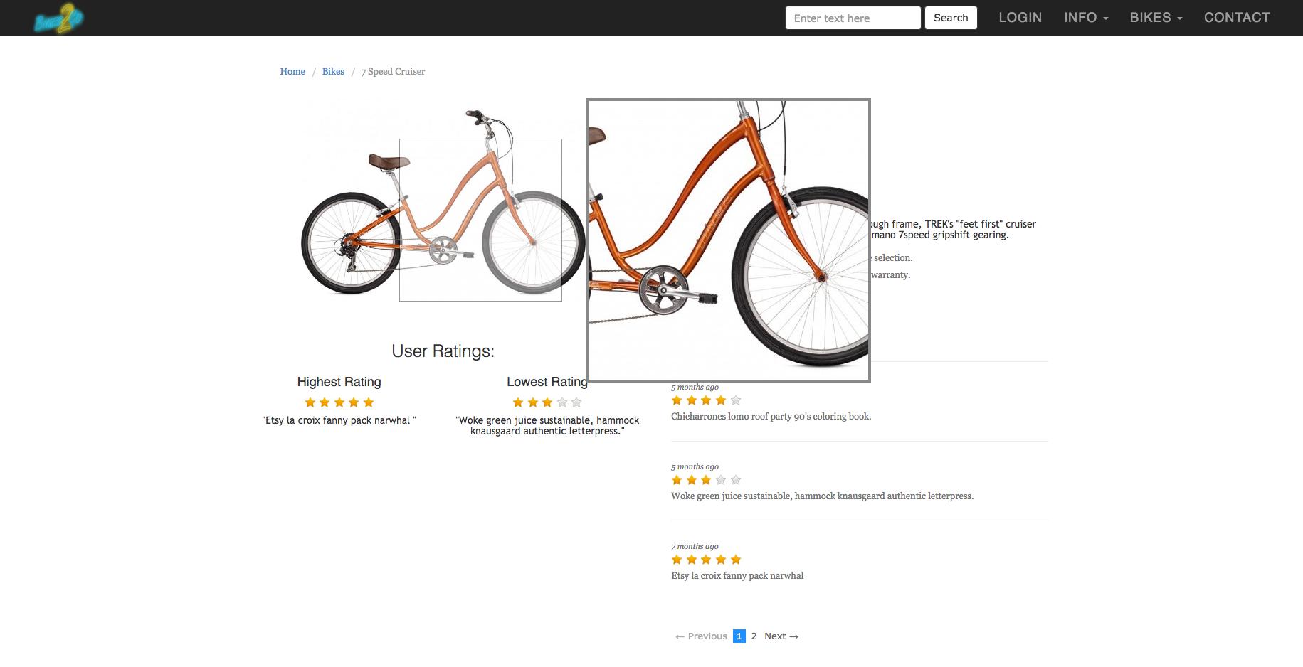 Bikes2Go | Picture Zoom