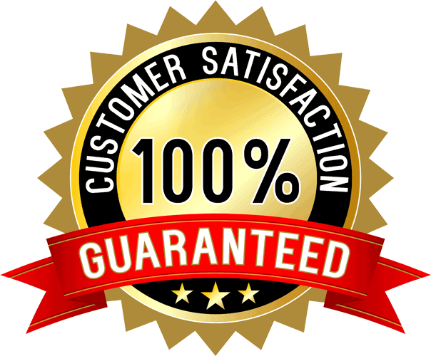 Your satisfaction is guaranteed on your window cleaning service