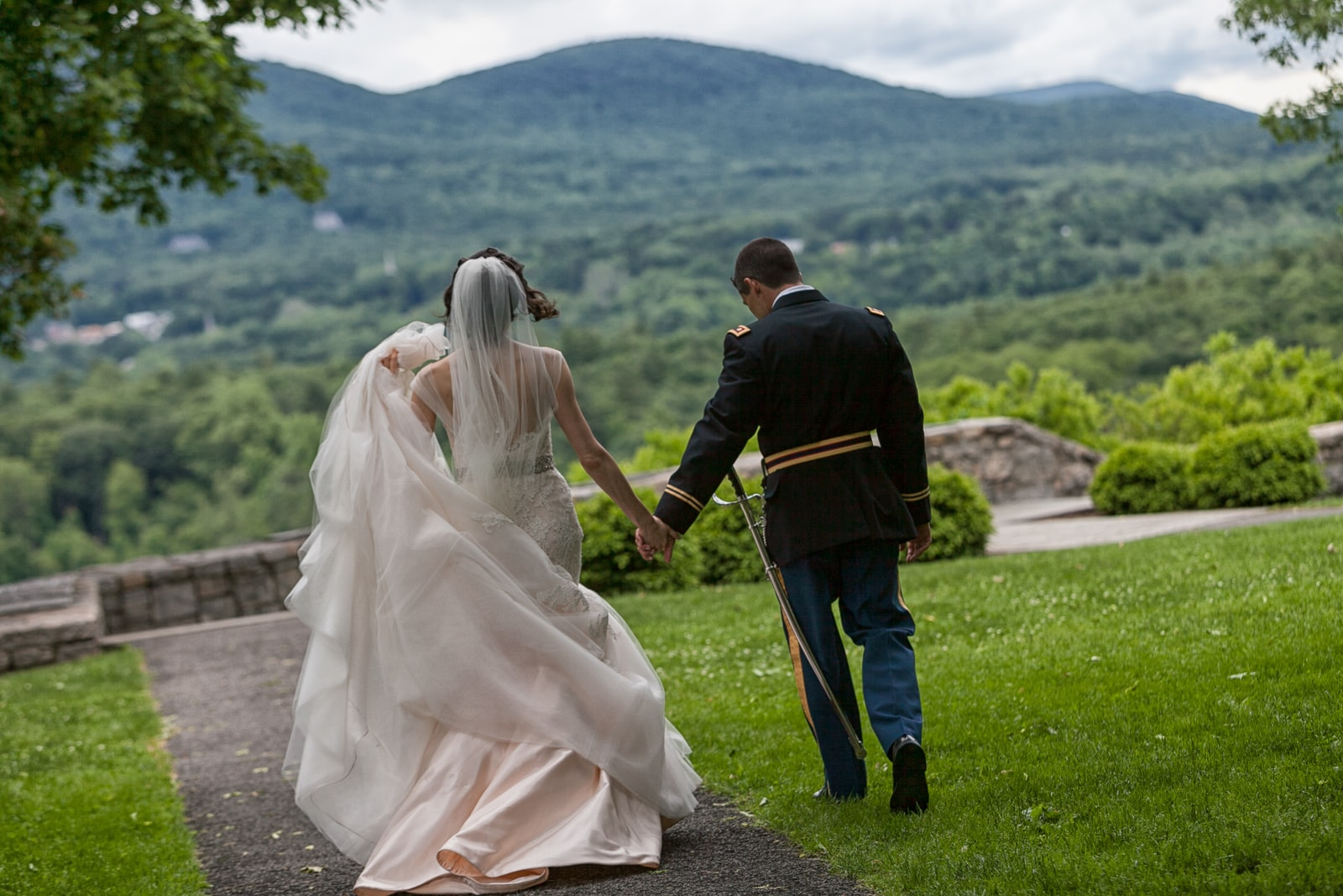 West Point Wedding at Cadet Chapel