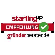 Empfehlung von gründerberater.de