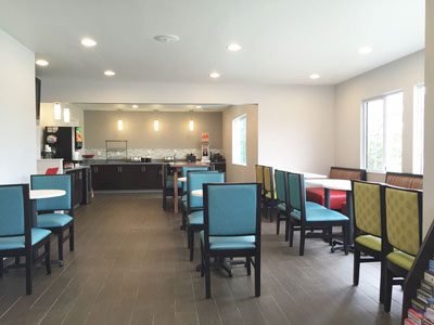 Ramada Monterey Breakfast Area