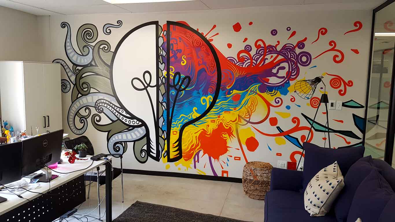 Reliable mural artists in south africa for Contemporary mural