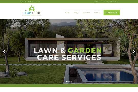 Custom Website for Local Lawn Care Company - Webflow