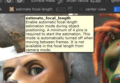 estimate focal length