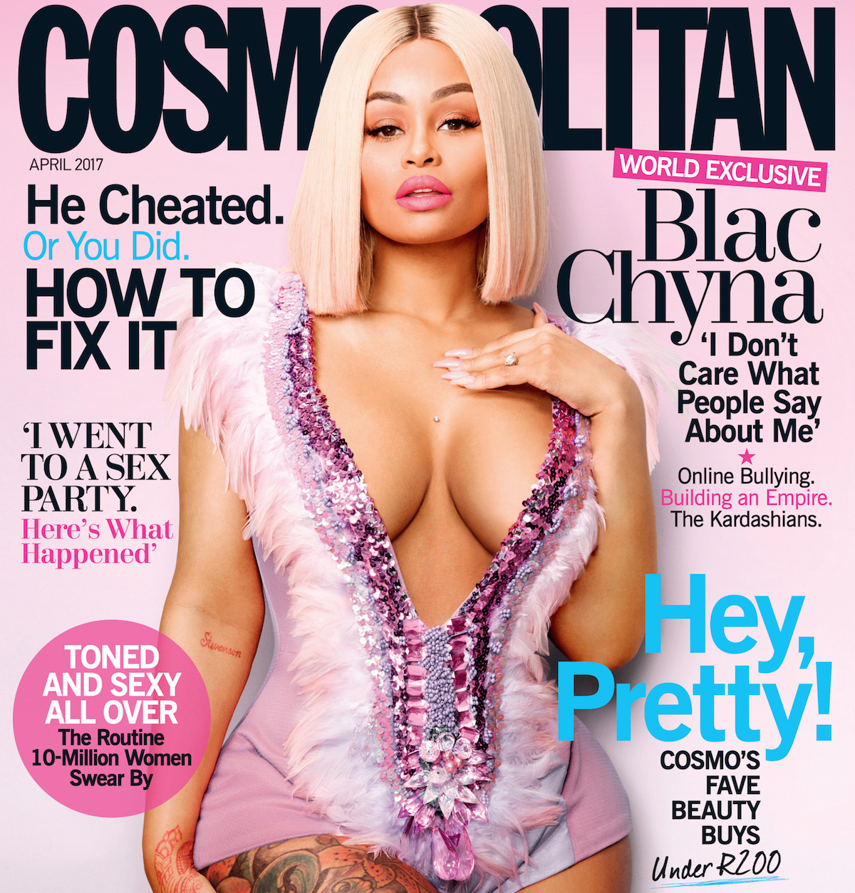 The Celebrity Big Brother producers are eyeing the American model/entrepreneur Blac Chyna