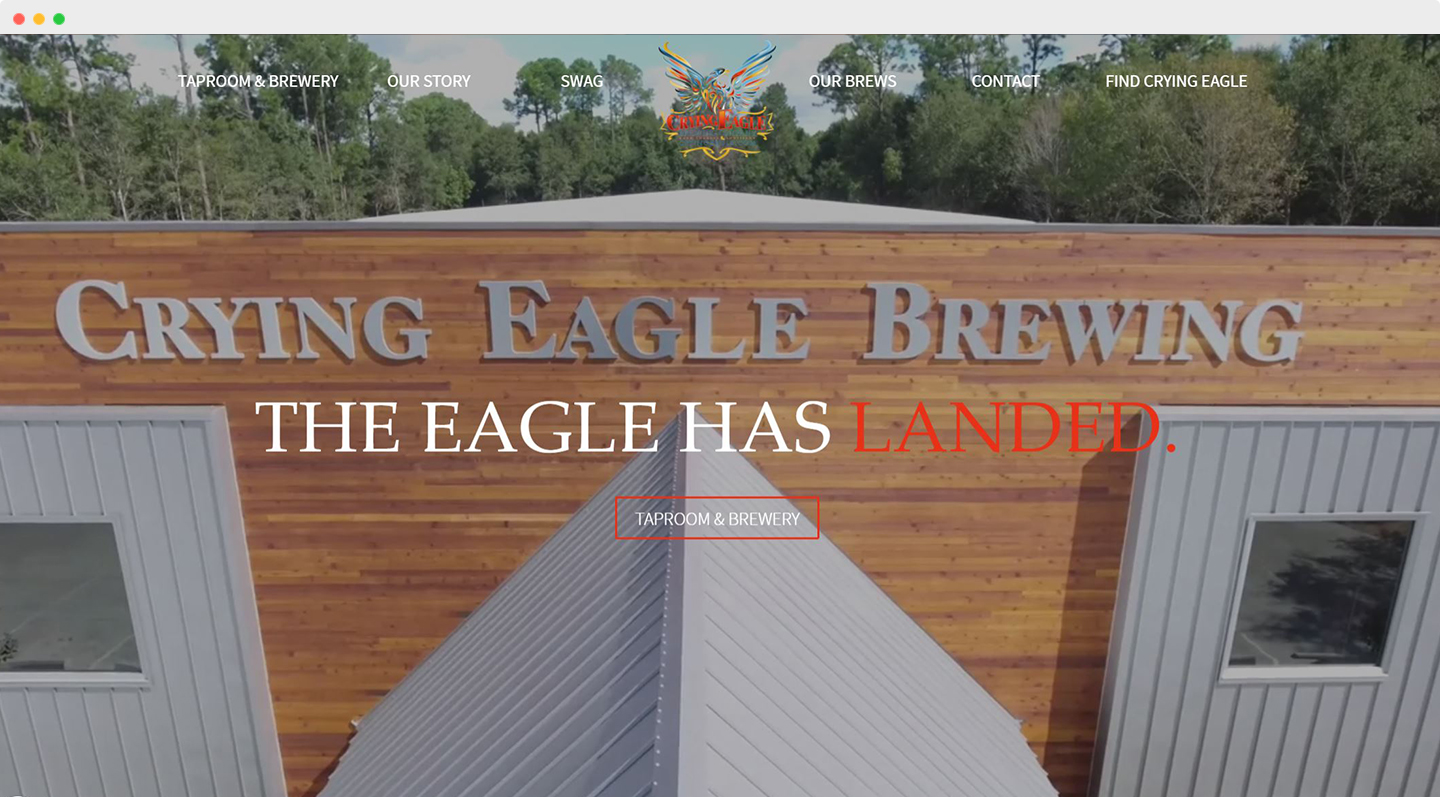 Crying Eagle Home page