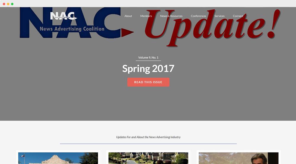 News Advertising Coalition News & Resources screenshot