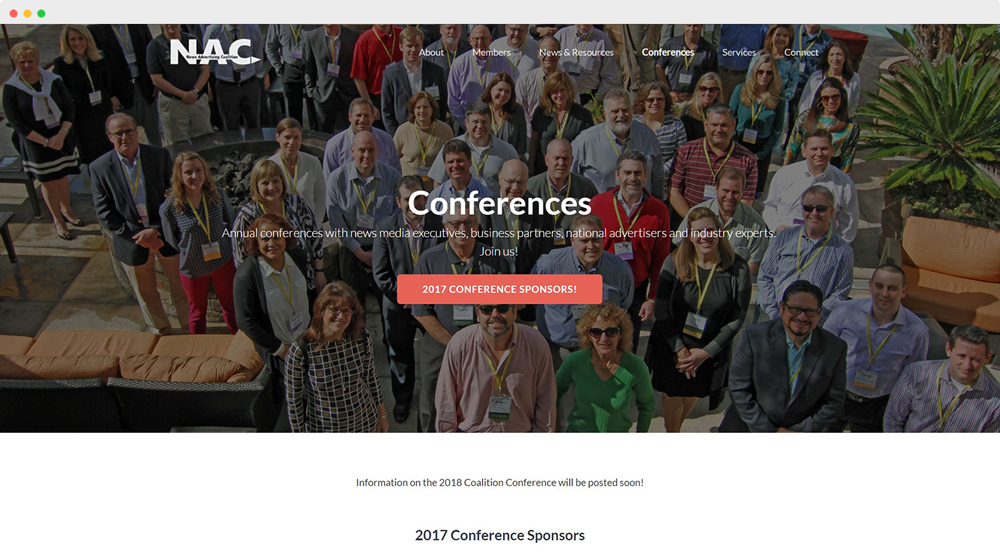 News Advertising Coalition Conferences