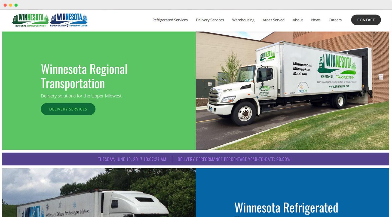 Winnesota Regional Transportation home page