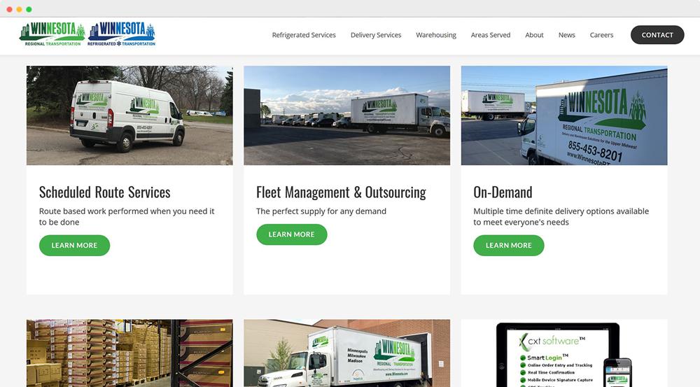 Winnesota Regional Transportation services