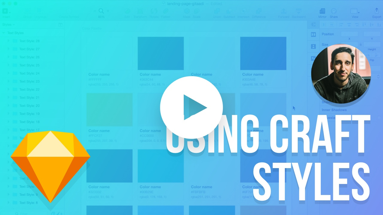 How to use Styles in Craft by InVision