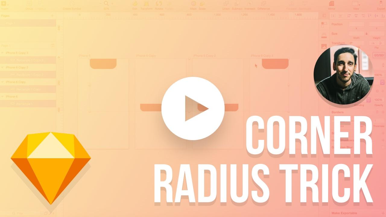 The Corner Radius Trick