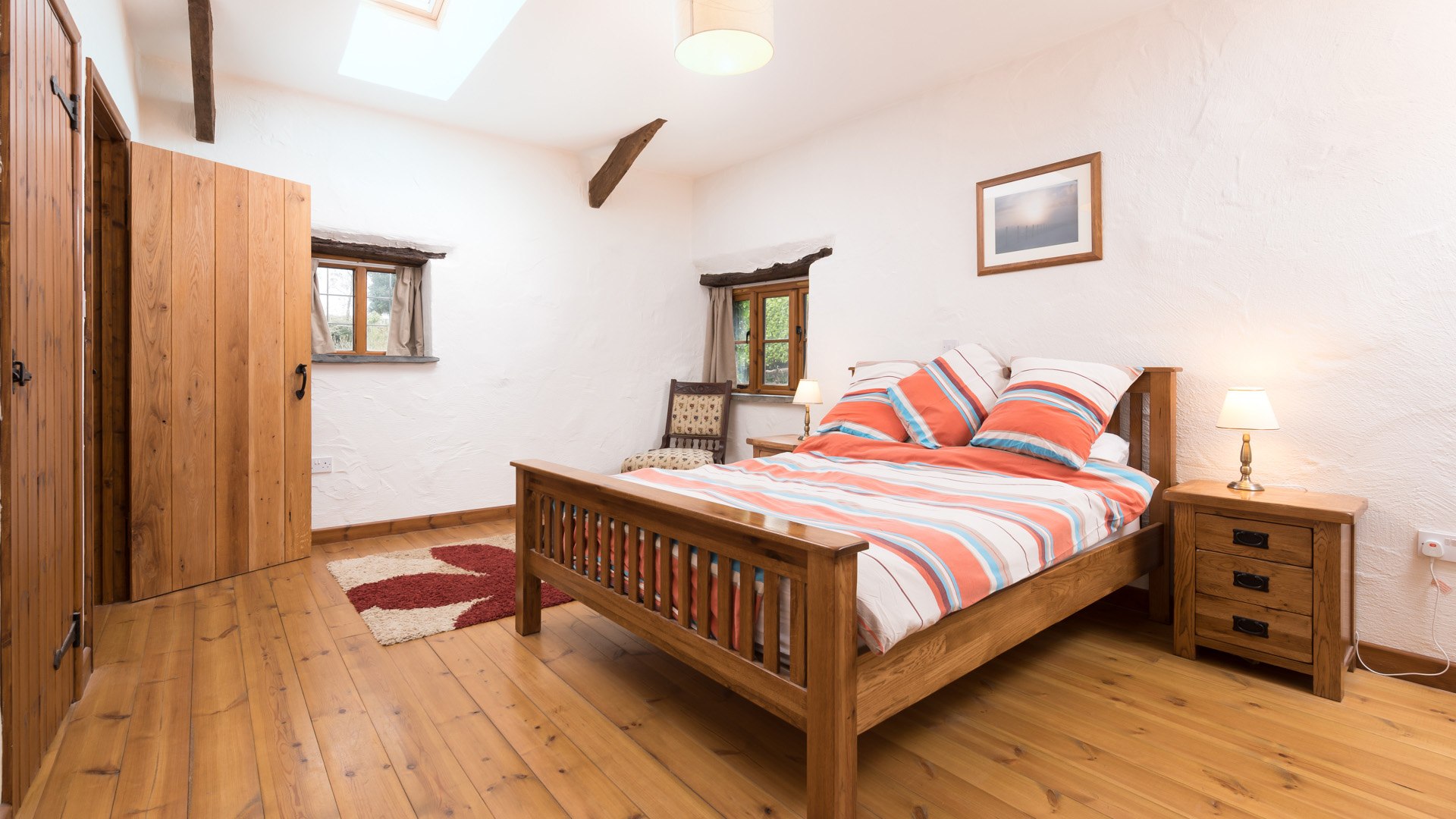 The Byre master bedroom