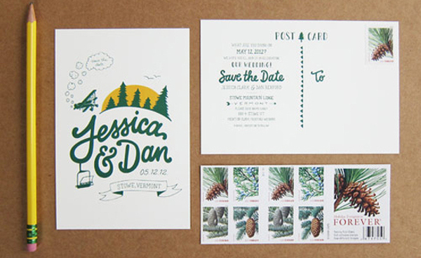 BudgetSavvy Brides The Cost of Wedding Save the Dates – How to Address Wedding Save the Dates