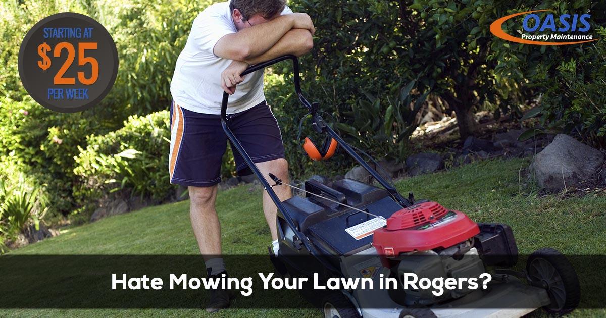 Rogers Arkansas Lawn Care Service
